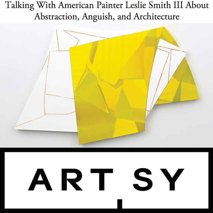 click image to read the Artsy interview