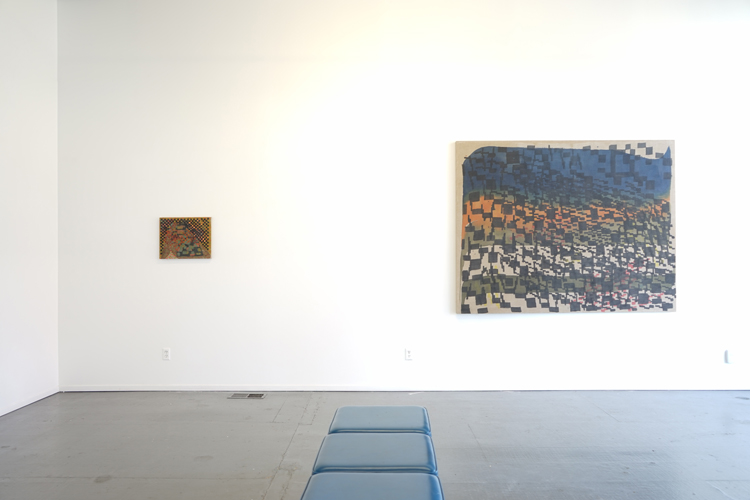 "Clayton Colvin ""how memory moves"" - installation view at Maus Contemporary"