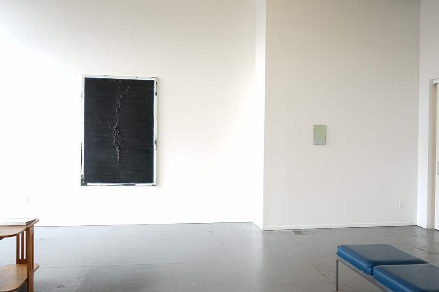 "Felix Becker - installation view of the artist's exhibition ""erase  reverse"" at Maus Contemporary"
