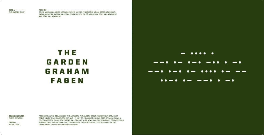 Graham Fagen The Garden/Radio Relay