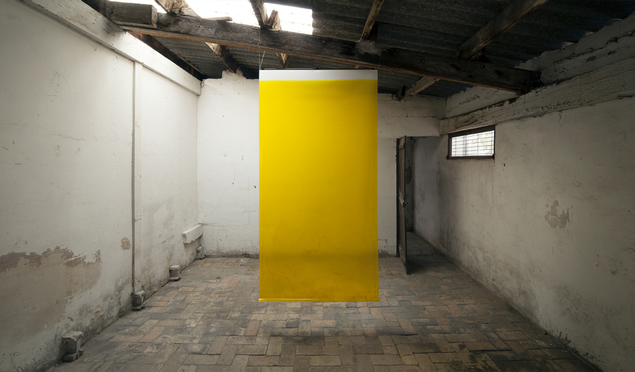 "Yellow, from the series ""4 litros"""