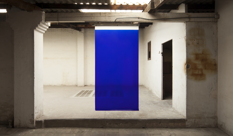 "Blue, from the series ""4 litros"""