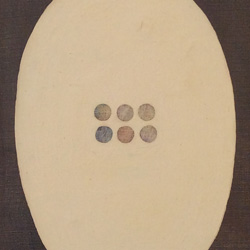 Yoshishige Furukawa - important minimalist dot paintings from the 1960s